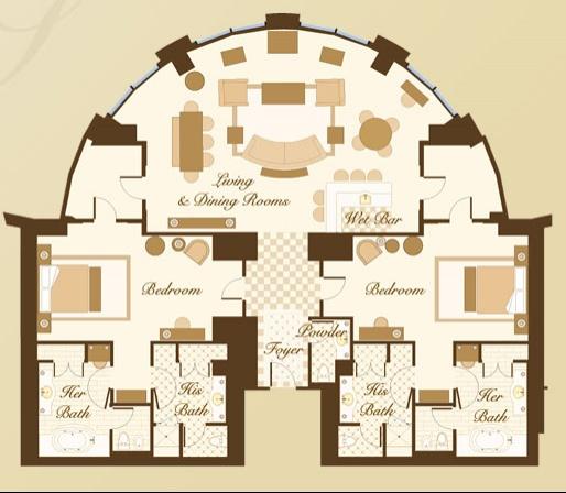 Two Bedroom Suites In New Orleans: Design Salon Floor Plan Online