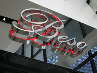 Beso is an Eva Longoria Parker Restaurant located inside of Crystals at City Center