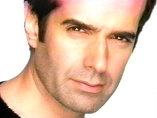 Las Vegas Magician David Copperfield