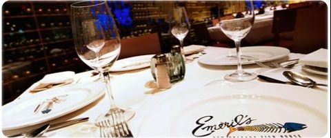 World famous chef, Emeril Lagasse Las Vegas restaurant