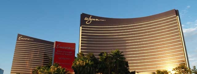 The Wynn and Encore hotel and casinos.