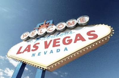 The famous Las Vegas sign