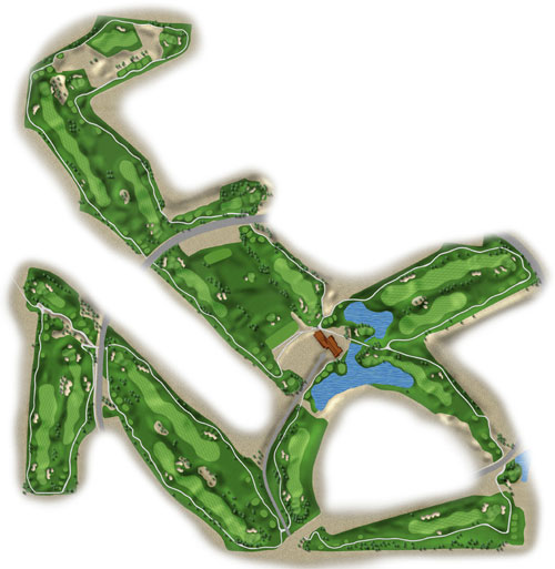 Tuscany Golf Club Las Vegas Course Layout