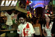 049 - Michael Mirenda, First Annual Zombie Walk 2009 Fremont Street Experience