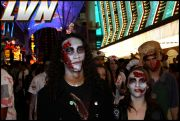 048 - Michael Mirenda, First Annual Zombie Walk 2009 Fremont Street Experience