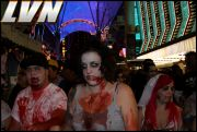 046 - Michael Mirenda, First Annual Zombie Walk 2009 Fremont Street Experience
