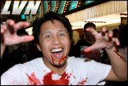 044 - Michael Mirenda, First Annual Zombie Walk 2009 Fremont Street Experience