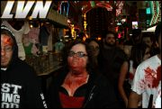 043 - Michael Mirenda, First Annual Zombie Walk 2009 Fremont Street Experience