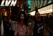 042 - Michael Mirenda, First Annual Zombie Walk 2009 Fremont Street Experience