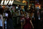 039 - Michael Mirenda, First Annual Zombie Walk 2009 Fremont Street Experience