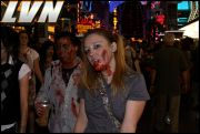 036 - Michael Mirenda, First Annual Zombie Walk 2009 Fremont Street Experience