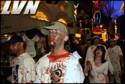 033 - Michael Mirenda, First Annual Zombie Walk 2009 Fremont Street Experience