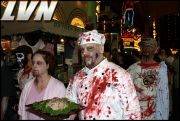 032 - Michael Mirenda, First Annual Zombie Walk 2009 Fremont Street Experience