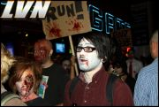 021 - Michael Mirenda, First Annual Zombie Walk 2009 Fremont Street Experience