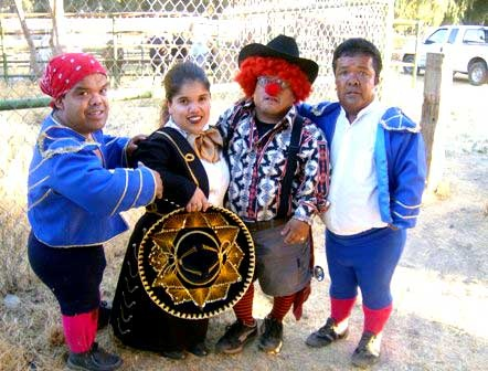 Midget bullfighters, or Enanitos Toreros.