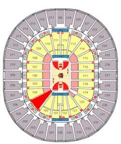 Thomas Amp Mack Center Seating Chart Brokehomecom