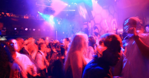 clubgoers dance to salsa, jazz, and hip hop.