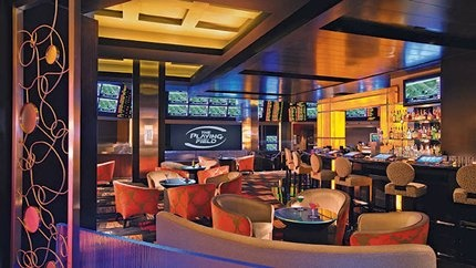 THe Playing Field Lounge at Planet Hollywood Las Vegas