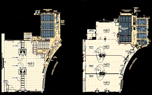 floor plan prestige trend home design and decor sands expo and convention center las vegas convention