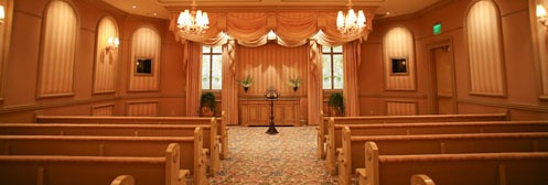 The South Wedding Chapel At Bellagio