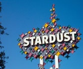 Old Stardust Las vegas neon sign