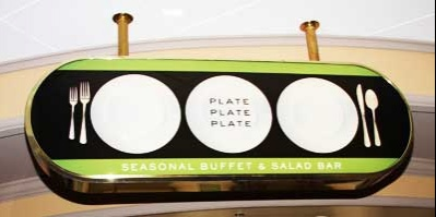 The Stratosphere's buffet sign