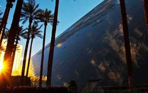 Sunset over the Luxor