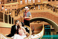 Venetian wedding chapel weddings in las vegas a symbol of italian tradition our venetian gondolas are as picturesque as they are romantic the beautifully decorated white gondola is uniquely crafted junglespirit Choice Image