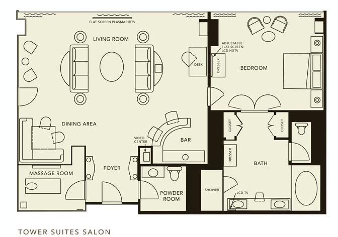 Salon Suites Floor Plan
