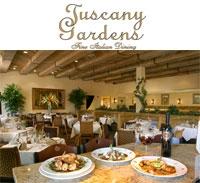 Tuscany Gardens Las Vegas Italian Restaurants Tuscany